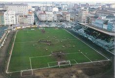 Antiguo estadio Manuel Rivera, en Ferrol