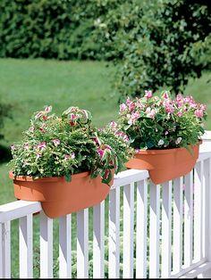 Deck Rail Planters | Deck Railing Planters | Gardeneru0027s Supply