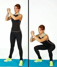 Týchto 7 cvikov mi odporučila fitness trénerka na doma. Moje telo sa zmenilo už za 4 týždne a cvičila som len 10 minút denne!   Babské Veci