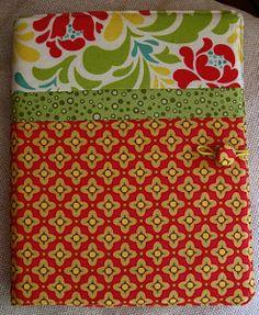 Tutorial cover Notebook | TeresaDownUnder porción cosida
