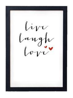 Live Laugh Love Print // Instant Download by JoellesEmporium, £3.50