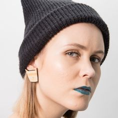 Cat Stud Earrings are made from birch plywood. Cat Stud Earrings are designed, cut and made in Helsinki. Stud Earrings, Jewellery, Fashion, Moda, Jewels, Fashion Styles, Stud Earring, Schmuck, Fashion Illustrations