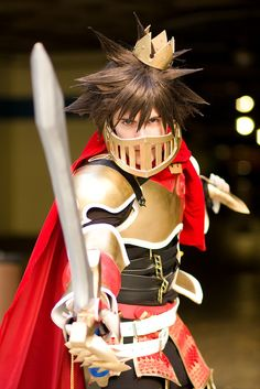 Sora - Kingdom Hearts #cosplay (If Sora actually wears this in KH3 I will have a heart attack.)