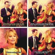 jennifer lawrence quotes | Tumblr  This is why I want to be her friend! She's just so real, an silly.