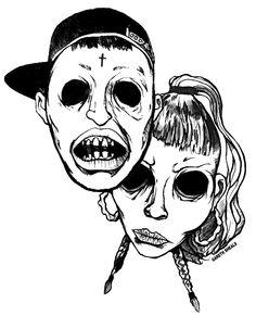 CRIM3S illustration by Gareth Sheals http://garethsheals.tumblr.com/
