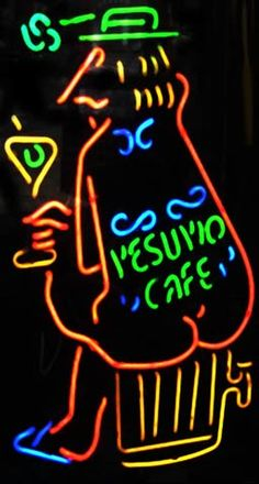 Vesuvio Cafe, Beatnik hot spot, San Francisco. I tended bar at The Land's End on California Street in the '70's.  Used to get together for breakfast in China Town week-ends 3-4 a.m. w/ a bunch of other bartendeders from North Beach.  Sooooo much fun. (and tasty.)