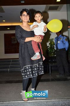 Kiran Rao & Azad Khan at Azad Khan's birthday bash in Mumbai