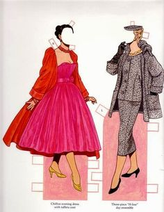 Classic Fashions of CHRISTIAN DIOR by TOM TIERNEY 8 of 17