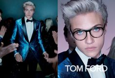 SPRING/SUMMER 2016 CAMPAIGN SHOT BY NICK KNIGHT IN LOS ANGELES, FEATURING LUCKY BLUE SMITH. THE IMAGES ORIGINATE DIRECTLY FROM THE WOMENSWEAR COLLECTION VIDEO THAT DEBUTED ON TOMFORD.COM STARRING LADY GAGA. #TOMFORD #TFWSS16