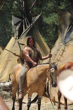 Badass Meditation! (Gil Birmingham as Red Knee in The Lone Ranger)