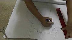 reglas para costura patronaje de ropa interior - YouTube