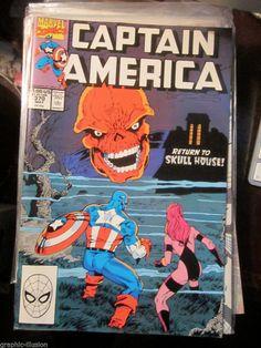 Captain America #370 Marvel Comics 1990 NM just lited 10 different issues of Capt. America http://graphic-illusion.com