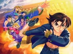 Kenichi The Mightiest Disciple Wallpaper I Love Anime, Awesome Anime, Me Me Me Anime, Kenichi The Mightiest Disciple, Tenjou Tenge, Battle Vixens, Tms Entertainment, My Fantasy World, Air Gear