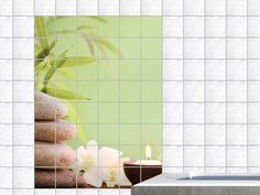 Orchideen badezimmer ~ Graz design wandsticker set badezimmer massagesteine