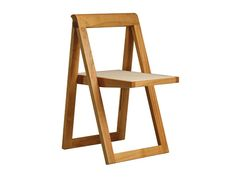 Buy online Ciak | chair By morelato, folding cherry wood chair, design Collection