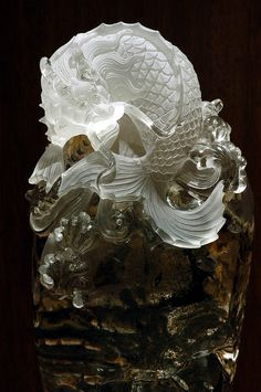 Koi Carp, In Ancient Times, Stone Cuts, Stone Carving, Goldfish, Gate, Oriental, Lion Sculpture, Stones