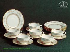 Exkluzivní porcelánový set Simona od nejstarší české porcelánové manufaktury HAAS&CZJZEK