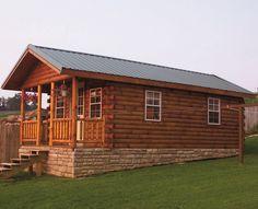 Pre-built log cabins starting at $6k!