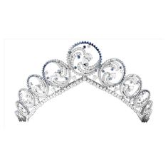 Ocean Tiara (Monaco) ❤ liked on Polyvore featuring accessories, hair accessories, tiara and jewelry