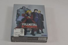 Full Metal Alchemist Season One Part One New Sealed DVD Set Episodes 1 - 16 #Unbranded