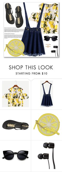"""""""Shein contest"""" by lejla-7 ❤ liked on Polyvore featuring IPANEMA, Kate Spade, Vans and Accessorize"""