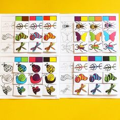 More And Less, Number Games, Animal Activities, Coding, Butterfly, Pattern, Grande Section, Position, Chenille