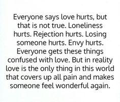 Love = Wonderful