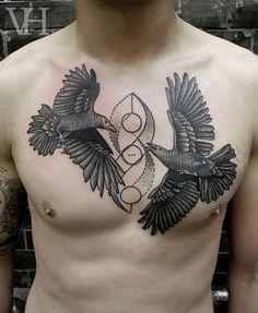 Dove crow spiral center