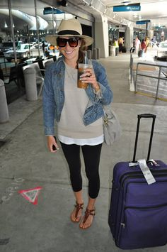 Great travel outfit. Style Within Reach: Getting Dressed for Less: Travel Style