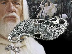 Gandalf's cloak pin