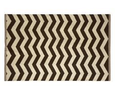 black and white zig zag rug - Google Search