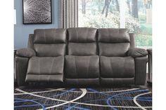 Erlangen Power Reclining Sofa | Ashley Furniture HomeStore