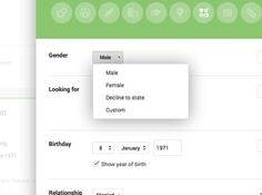 Google Plus Gender update adds custom option