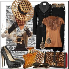 """Read All Over"" by jacque-reid on Polyvore"