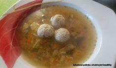 VeVerčiny laskominy: Zeleninová polévka s drožďovými knedlíčky