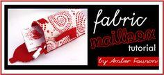 Cute fabric mailbox tutorial