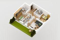 Apartament 03, Parter, Nord - Vest