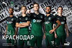 Camisas do FK Krasnodar 2017-2018 Puma