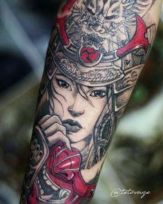Tattoo Trends – Samurai tattoo Men tattoo Sleeve tattoo Samurai girl Tattoo design Unik Tetovaz… - unique Tattoo Trends – Samurai tattoo Men tattoo Sleeve tattoo Samurai girl Tattoo design Unik T - Geisha Tattoos, Geisha Tattoo Sleeve, Samurai Tattoo Sleeve, Geisha Tattoo Design, Tattoos 3d, Mädchen Tattoo, Hanya Tattoo, Marvel Tattoos, Asian Tattoos