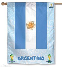World Soccer Argentina National Team FIFA World Cup House Flag  | eBay