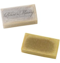 Handmade All-Natural Rosemary Soap by Maak Soap Lab for Rejuvenation. Made in Portland, Ore.