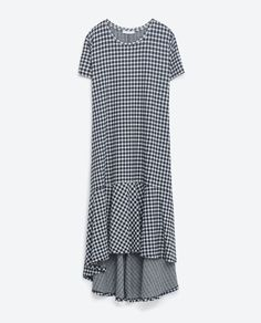Image 8 of GINGHAM DRESS from Zara