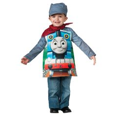 The Official PBS KIDS Shop | Deluxe Thomas The Tank Toddler/Child Costume