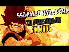 Como Tener El SSJ Falso En Dragon Ball Xenoverse 2 SIN MODS - YouTube