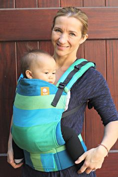 (Standard Size) Full Wrap Conversion Tula Baby Carrier - Didymos Iris