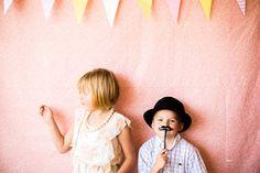 sunshine & lemonade first birthday photo booth
