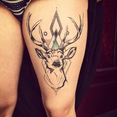 65 Nobel Deer Tattoo Meaning and Designs - Wild Nature Check more at http://tattoo-journal.com/65-nobel-deer-tattoo-meaning-and-designs-wild-nature/