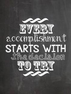 Encouraging Workplace Chalkboard Quotes- Set the scene for high expectations! I've had several professionals email me to request printables for the office or learning environment.
