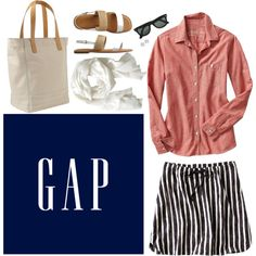 """""""Gap Americana Style Contest Entry"""" by tequilacupcakes on Polyvore"""