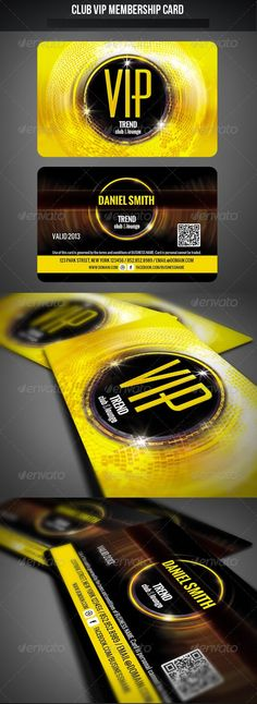 Club VIP Membership Card Club VIP Membership Card Club VIP Membership Card Features and technical specs: Student Business Cards, Square Business Cards, Make Business Cards, Business Card Design, Loyalty Card Template, Voucher, Vip Card, Ecommerce Logo, Print Templates